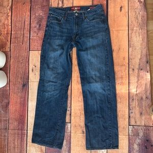 Lucky Brand Jeans 32X32 181 Relaxed Straight (Px)